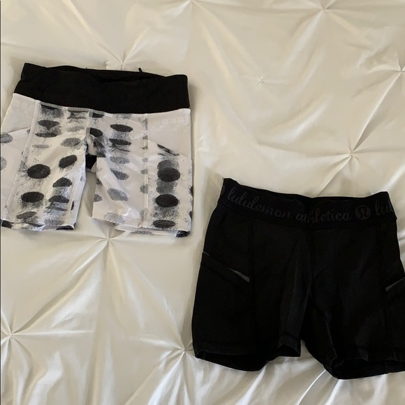 Bundle of 2 lululemon shorts